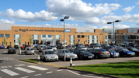 The Norfolk and Norwich University Hospital. Picture: James Bass.