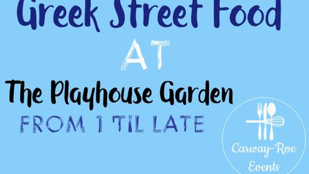 A Greek-style street food event is happening in Norwich. Photo: Caraway-Roe Events.