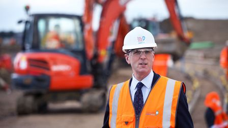 Peter Simpson, chief executive of Anglian Water. Picture: Tim George.