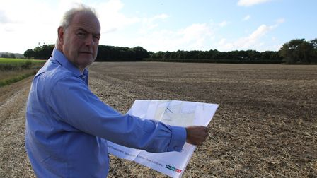 Landowner Michael Gurney has begun consulting the public on proposals to create 300 new homes and sp