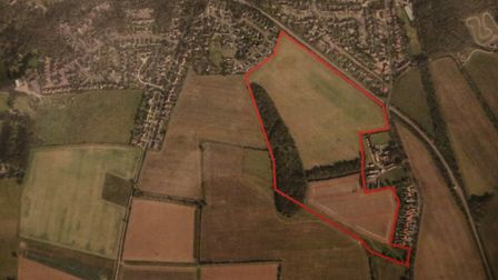 The site of the proposed new Norwich Road Development in Cromer. Picture: Ally McGilvray
