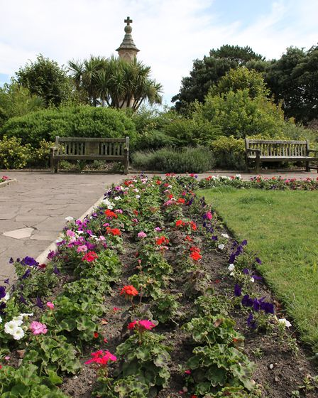 The memorial gardens in Sheringham. Picture: Ally McGilvray