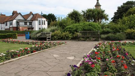 The memorial gardens in Sheringham. Picture: Aly McGilvray