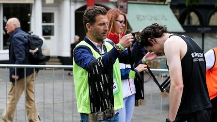Volunteers are an essential part of Run Norwich. Picture: Epic Action Imagery/Courtesy of Run Norwic