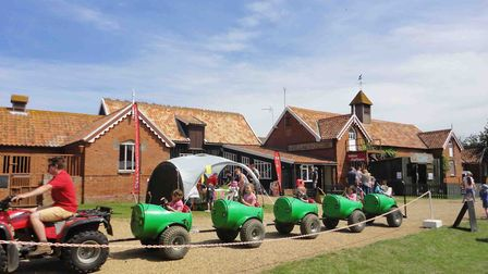 Easton Farm Park in Suffolk is a great place to head for the whole family. Picture: Contributed.