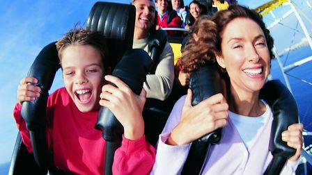 Why not experience a rollercoaster this summer with your family? Picture: Digital Vision/Thinkstock.