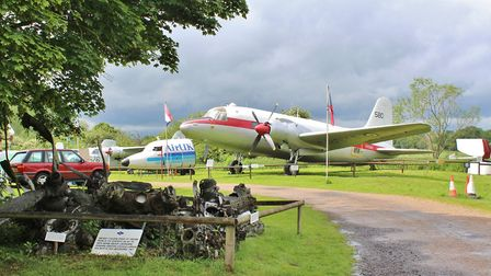 The Suffolk and Norfolk Aviation Museum in Flixton. Picture: Peter Bash.