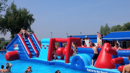 Cool down this summer at Beccles Lido. Picture: Contributed.