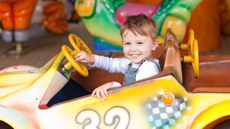 Traditional fairground rides are so much fun. Why not see how many you can go on at Great Yarmouth's
