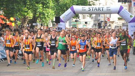 Run Norwich takes place today. Picture: Simon Finlay
