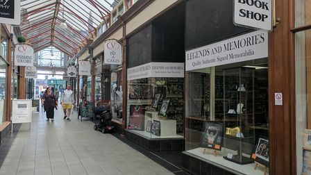 Legends and Memories in Victoria Arcade. Picture; George Rya