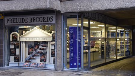 Prelude Records, which closed in March, could be turned into a pasta restaurant. Picture: DENISE BRA