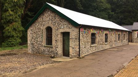 The grand opening of the restored Brandon Engine House at Brandon Country Park. Picture: Rebecca Mur