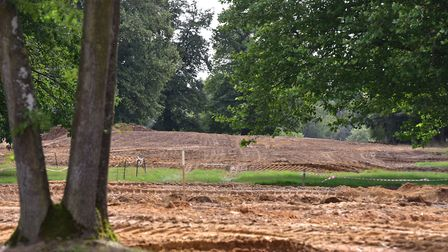 A first look at the work being carried out at the former Weston Park Golf Club which will be home to