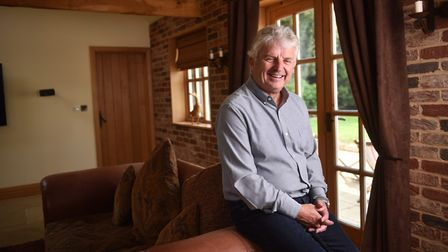 Martin Anderton, who was diagnosed with Posterior Cortical Atrophy dementia. Picture : ANTONY KELLY