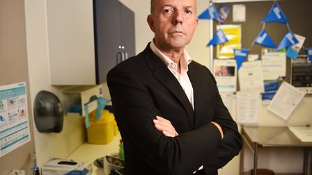 Michael Scott, CEO of Norfolk and Suffolk NHS Foundation Trust. Picture : ANTONY KELLY