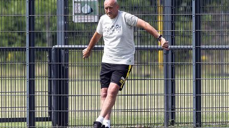 Richard Money has left his position as academy manager at Norwich City. Picture: Paul Chesterton/Foc