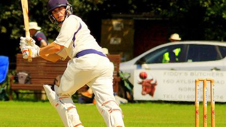 Sam Arthurton scored an unbeaten century to guide Norfolk to a dramatic win. Picture: Tim Ferley