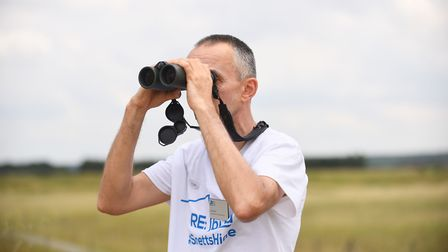 A crowdfunding appeal has been launched to rebuild the the wildlife watching hide at Snettisham RSPB