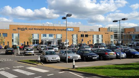 Norfolk and Norwich University Hospital. Picture: James Bass.