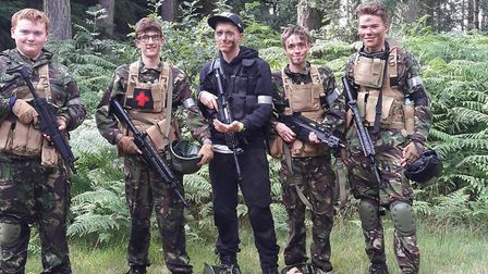 The week was a success for the centre, with every participant qualifying. Photo: Airsoft