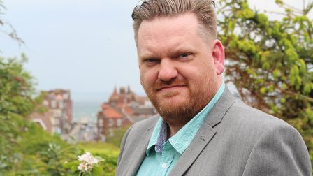 Gary Dickenson, President of Cromer and District Chamber of Trade and Business