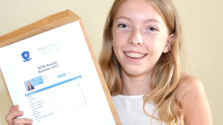 Daisy Blowers, who achieved nine As and A*. Picture: Mick Howes