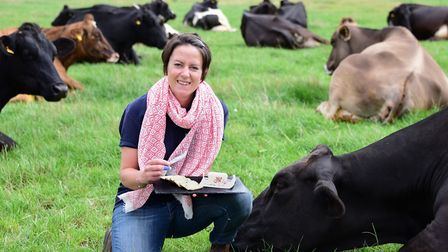 Norfolk dairy farmer Emily Norton believes global free trade could give UK producers the chance to c