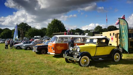 Classic cars will be motoring to Swaffham this weekend. Picture: Antony Kelly