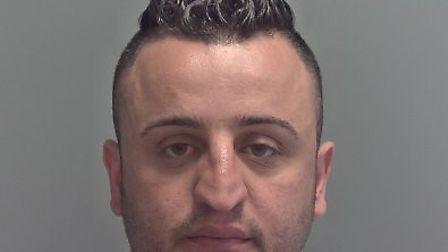 Hemin Sharif was jailed for five years and 10 months. Picture: Norfolk Police