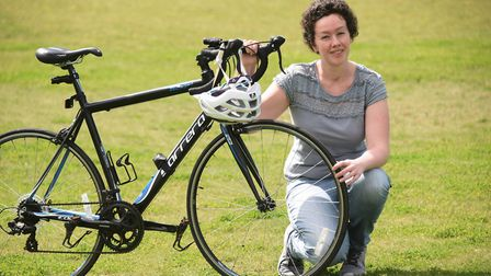 Philippa Borrill who will be riding in the Tour de Broads race to raise awareness and funds for Seps