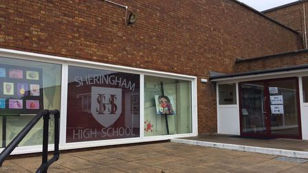 Sheringham High School A-Level results day. Pictures: David Bale