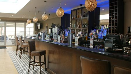 The Bar at The Cliff Hotel, Gorleston. Picture: Archant