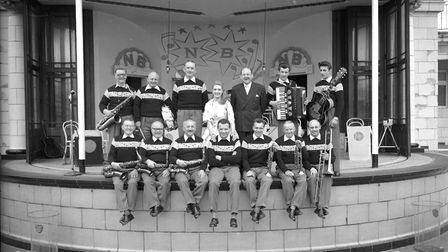 Neville Bishop and his Wolves were stalwarts at the Marina Amphitheatre in Yarmouth during the 1950s