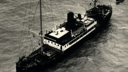 The ship where Radio Caroline was broadcast from. Picture: ARCHANT LIBRARY