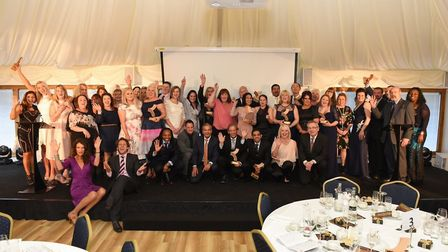 The award winners at the annual Kingsley Healthcare Care Awards. Picture: Sam Markwell.