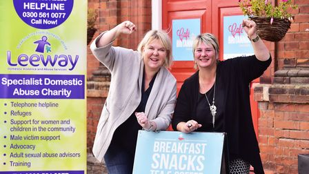 Britannia Enterprises sets out to raise £1000 for local domestic abuse charity, Leeway, this Christm