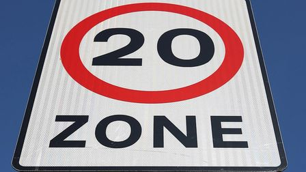 Photo of 20mph zone sign (Picture: PA)