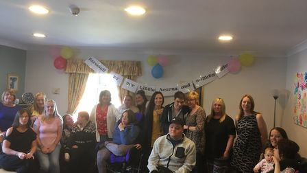 Parents and staff say farewell to Little Acorns in Gorleston. Picture: Archant