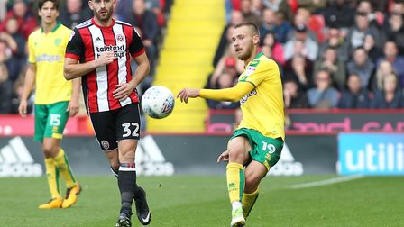 Tom Trybull has helped give Norwich a more solid look since coming into the side. Picture: Michael