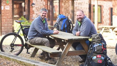 Jason Borthwick and (L) Chris Haycock have organised the first Deepdale Festival this weekend. Pictu