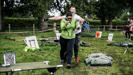 The 2017 Zombie Evacuation Race at Hockwold Hall. Picture: EPIC ACTION IMAGERY