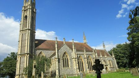 Booton Church was built by amateur architect Whitwell Elwin. Picture: Courtesy of Broadland District