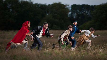 The Company of Wolves, Burn the Curtain's outdoor theatre experience for runners and walkers, is com