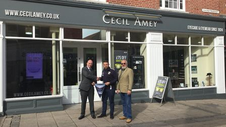 Hockwold CCs Roy Bland is the Cecil Amey Opticians Norfolk Alliance player of the month for August.