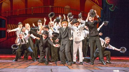 The Pauline Quirke Academy of Performing Arts is opening an academy in Norwich. Pictured are Paulin