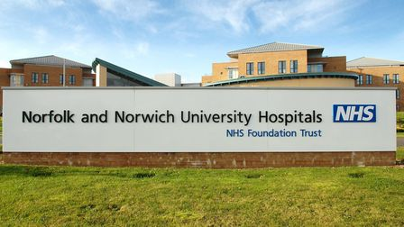 General View of the Norfolk and Norwich University Hospital at Colney. Picture: James Bass