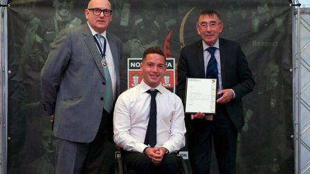 15 Year Long Service (officer) � Graham Jubb (The Anglian Combination Football League). Picture: Chr