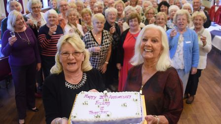 The Face It Together (FIT) group at Drayton for widows and widowers, celebrate their 20th anniversar