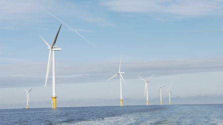 One of DONG Energy''s windfarms. Pic: DONG Energy A/S.